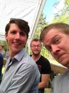 Nathanael, Niclas och Josef i Tannåker